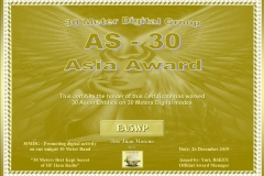 EA5WP-30MDG-Asia-30-Certificate-1