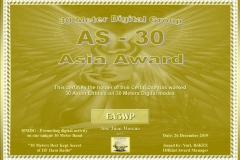 EA5WP-30MDG-Asia-30-Certificate-1
