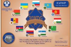 EA5WP-30MDG-CIS-Bronze-Certificate
