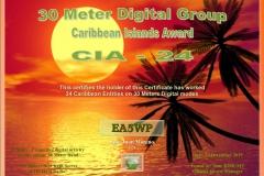 EA5WP-30MDG-Caribbean-24-Certificate-1