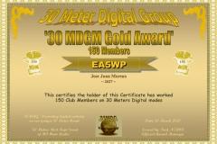 EA5WP-30MDGM-Gold-Certificate