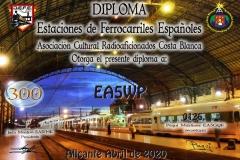 DIPLOMA-DEFE-300-FERROCARRILES