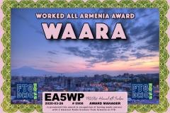 EA5WP-WAARA-WAARA_FT8DMC