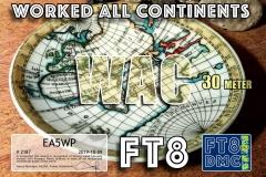 EA5WP-WAC-30M_FT8DMC