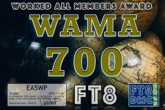 EA5WP-WAMA-700_FT8DMC