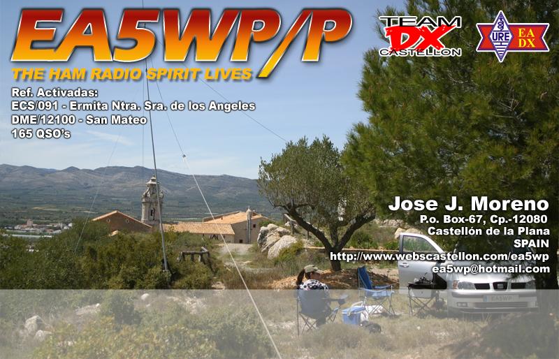 005 27-04-2014 EA5WP-P ECS-091 DME-12100